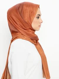 Tan - Printed - Shawl