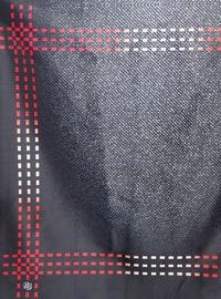Anthracite - Printed - Digital Printing - Scarf