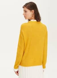 Crew neck - Yellow - Jumper