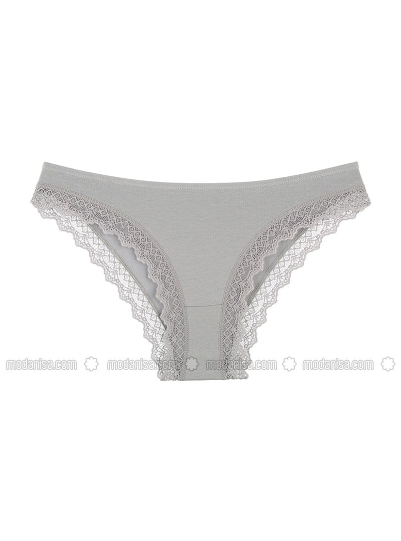 Gray - Panties