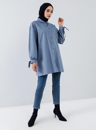 Indigo - Point Collar - Tunic