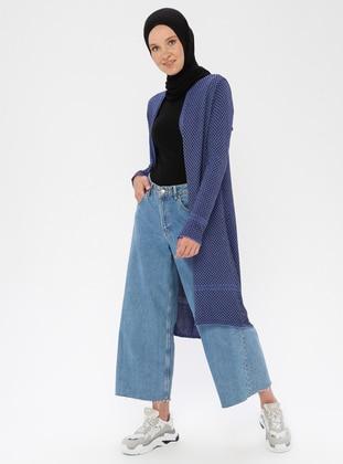 Saxe - Multi - Shawl Collar - Nylon -  - Viscose - Cardigan