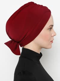 Maroon - Simple - Bonnet