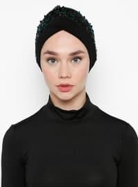Petrol - Black - Simple - Bonnet