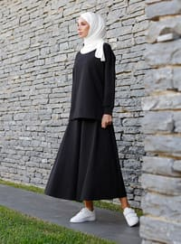 Siyah - Astarsız kumaş - - Kostüm