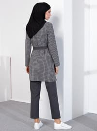 Gray - Unlined -  - Suit