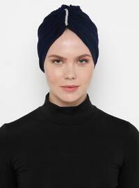 Navy Blue - Simple - Bonnet