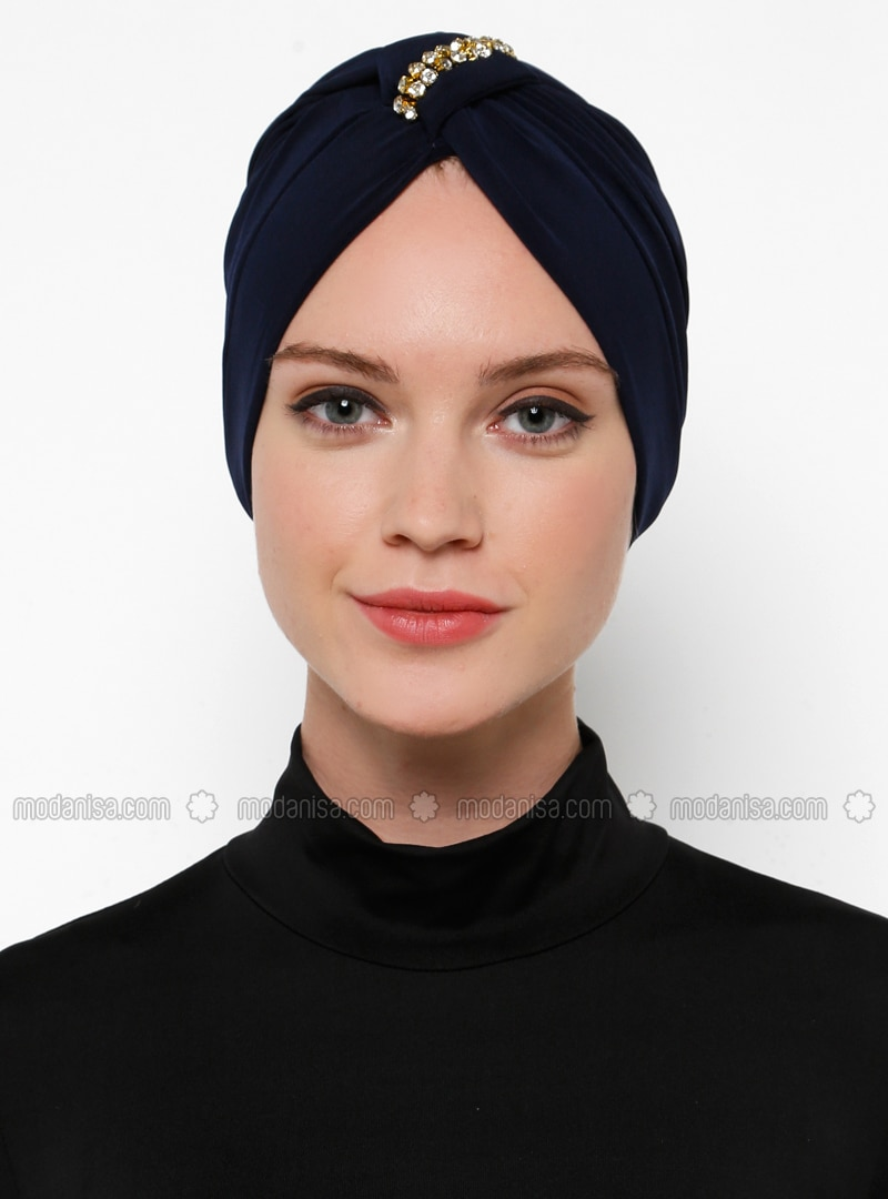 Navy Blue - Simple - Bonnet
