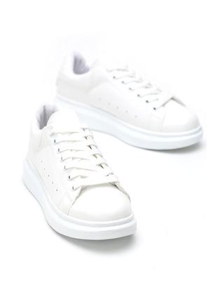 White - Casual - Shoes - Dujour Paris