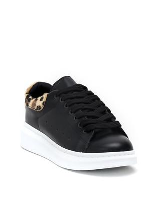 Leopard - Black - Casual - Shoes - Dujour Paris