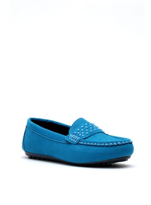 Turquoise - Flat - Flat Shoes - Y-London