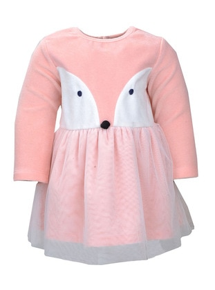 Crew neck - Pink - Baby Dress