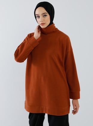 Cinnamon - Polo neck -  - Tunic