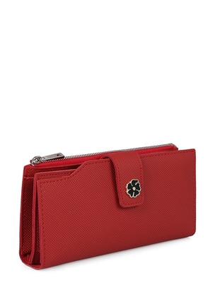 Red - Wallet - Laura Ashley