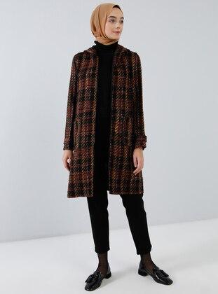 Black - Unlined - Acrylic - - Viscose - Topcoat