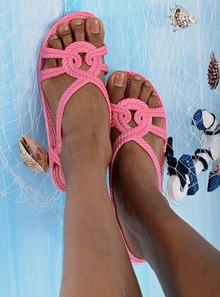 Pink - Sandal - Sandal - Y-London