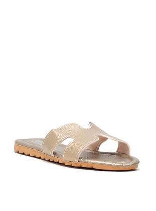 Bronze - Sandal - Slippers - Y-London