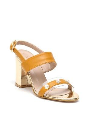 Yellow - High Heel - Heels - Dujour Paris
