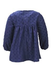 Crew neck - Navy Blue - Baby Dress