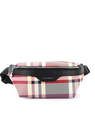 Red - Black - Bum Bag