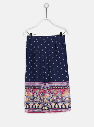 Navy Blue - Girls` Shorts - LC WAIKIKI