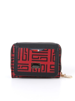 Red - Black - Wallet