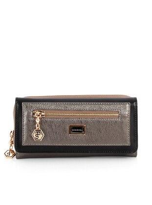 Silver - Black - Wallet