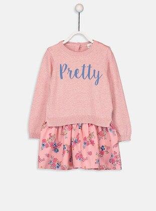 Printed - Pink - Baby Dress