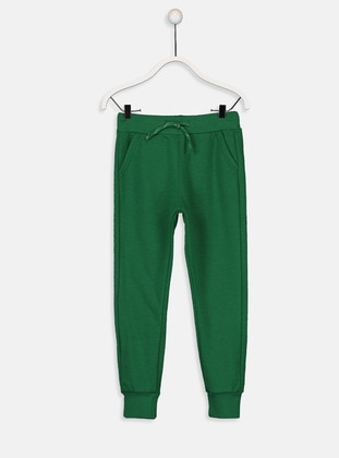 Green - Boys` Tracksuit