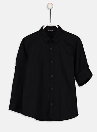 Black - Boys` Shirt - LC WAIKIKI