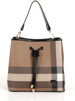 Brown - Black - Shoulder Bags