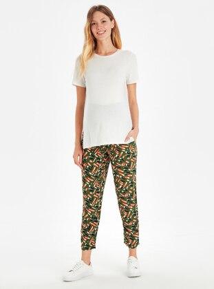 Khaki - Maternity Pants