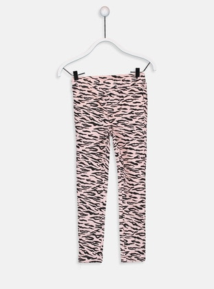 Pink - Girls` Pants - LC WAIKIKI