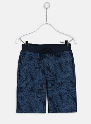 Navy Blue - Boys` Shorts - LC WAIKIKI