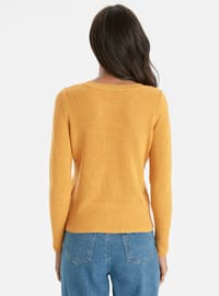 Crew neck - Yellow - Jumper
