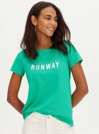 Crew neck - Green - T-Shirt