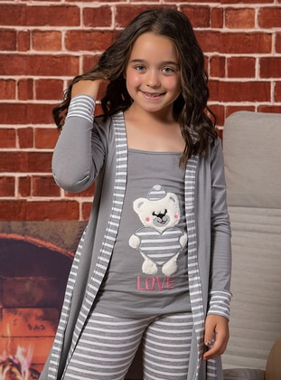 Gray - Girls` Pyjamas