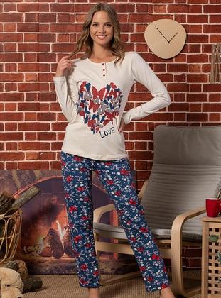 Beige - Pyjama