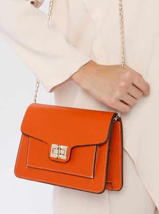 Orange - Shoulder Bags