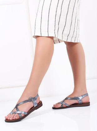 Metallic - Sandal - Sandal