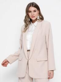 Stone - Shawl Collar - Fully Lined - Plus Size Jacket