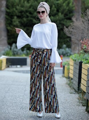 Multi - Stripe - Pants
