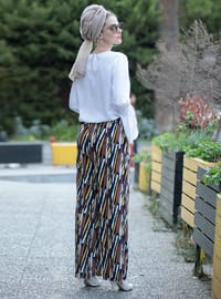 Multi - Stripe - Pants
