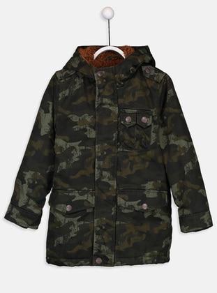 Khaki - Boys` Coat
