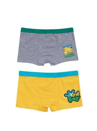 Yellow - Kids Underwear