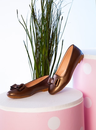 Copper - Flat - Flat Shoes