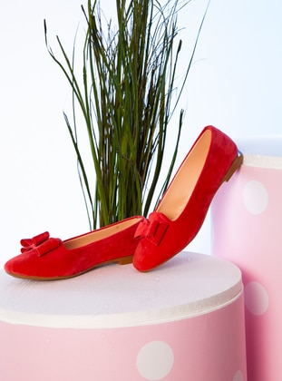 Coral - Flat - Flat Shoes
