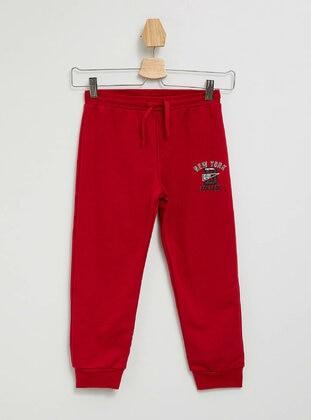 Red - Boys` Pants