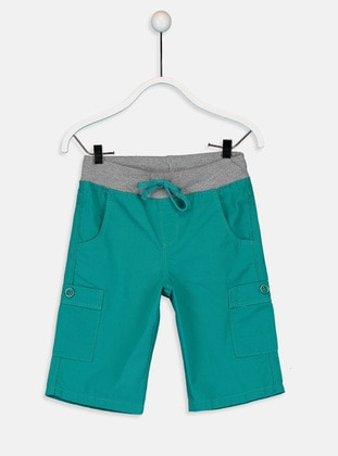 Green - Boys` Shorts - LC WAIKIKI