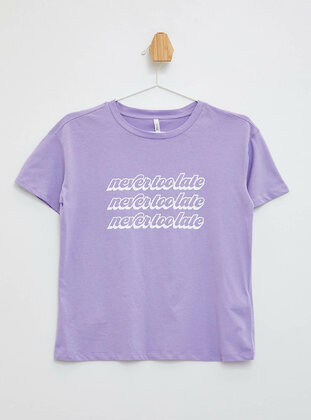 Purple - T-Shirt